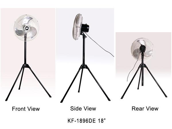 """KF-1896DE 18"""" (45cm) Industrial Stand Fan"""