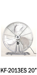 "KF-2013G 20"" (50cm) Industrial Desk / Floor Fan"