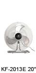 "KF-2013ES 20"" (50cm) Industrial Desk / Floor Fan"