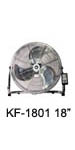 "KF-1801 18"" (45cm) Industrial Desk / Floor Fan"