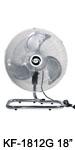 "KF-1812ES 18"" (45cm) Industrial Desk / Floor Fan"