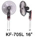 "KF-705W 16"" Wall Fan"