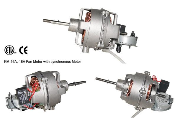 KM-16A, KM-18A Fan Motor with synchronous Motor