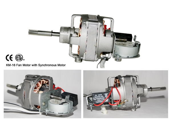 KM-16 Fan Motor with synchronous Motor