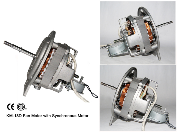 KM-18D Fan Motor with Synchronous Motor