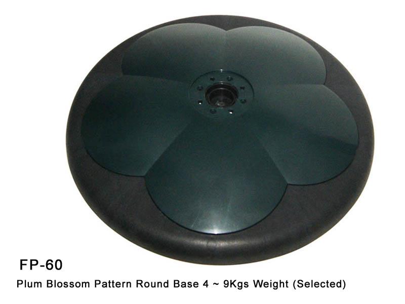 FP-60 Plum Blossom Pattern Round Base