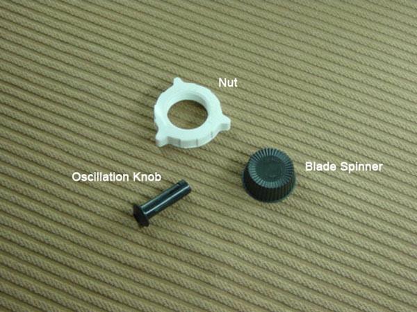 FP-11 Blade Spinner ,Nut and Oscillation Knob