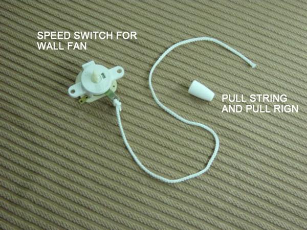 FP-49 SPEED SWITCH FOR WALL FAN,