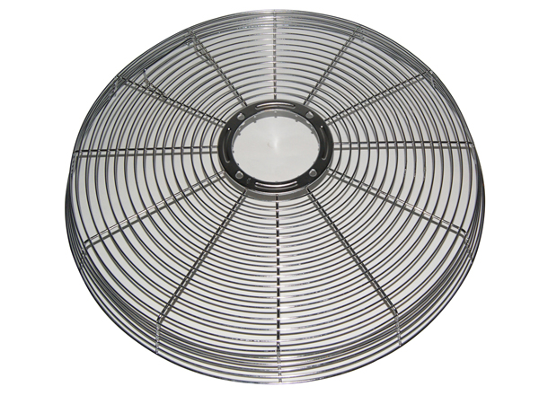 """FP-67 REAR Spiral Grill (Circle Grills) for 18"""", 20"""", 24"""" Fans"""